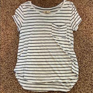 Hollister Flowy Striped Tshirt